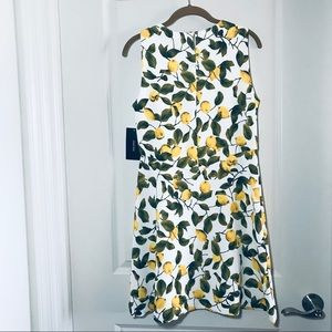 64f98768 Zara Dresses | Sleeveless Lemon Print Dress | Poshmark
